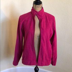 Pink Izod fleece